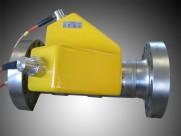 Isolert flowmeter på gassrør
